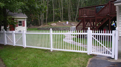 beautiful picket fence